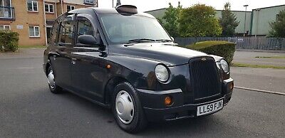 2009 (59) London Taxi Tx4 Silver Spec Automatic Hackney Cab