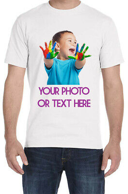 Custom Made Personalized T-Shirts Photos on a shirt-CLEARANCE!
