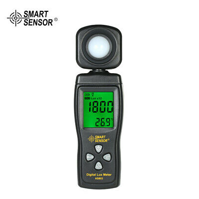 Digital Lux Meter Luminometer Photometer Luxmeter Light Meter 0-200000 Lux T5X2