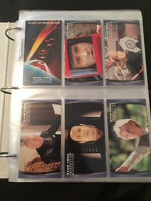 Star Trek Insurrection 72 Card Base Set SkyBox 1998