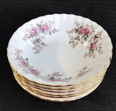 Royal Albert - Lavender Rose - 6 x Small Fruit Bowls - 1st Quality