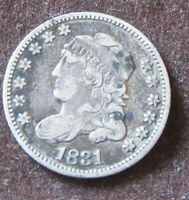 Liberty Capped Half Dime 1831 United States.