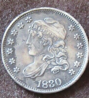 Liberty Capped Half Dime 1830 United States.