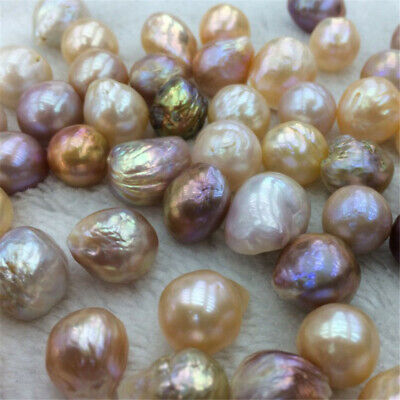 14-15MM Colorful Baroque Natural Pearl Scattered Beads Fine temperament classic