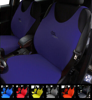 2 Navy Car Seat Covers For Peugeot 406 407 408 4007 4008 508 5008 Cc Sw 607