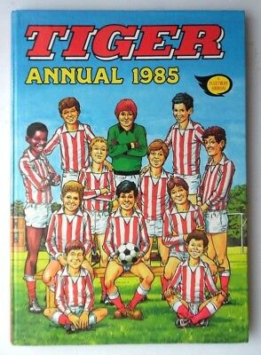 Tiger Annual 1985 Not Price Clipped No Writing Or Scribble