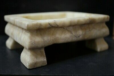 Ancient Roman Marble Stone Casket. Stunning Altar Ritual offering Box, 250-350Ad