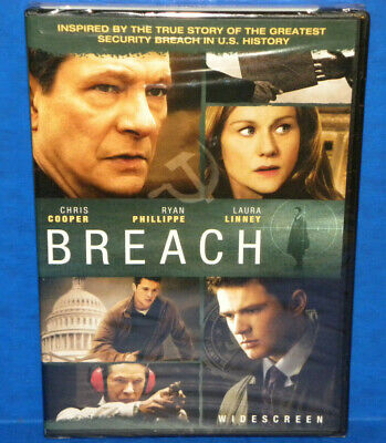 Brand New! Breach DVD, 2007, Widescreen Complete Sealed Movie Drama LOT 5364
