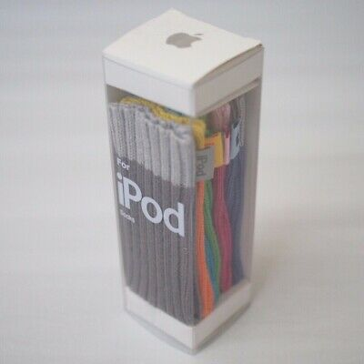 NEW Genuine Apple iPod Nano Socks 6 Colors Gray Orange Blue Green Pink Purple