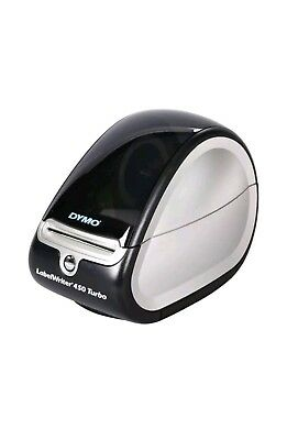 DYMO LabelWriter 450 Turbo (1752265) Postage and Label Printer for PC and Mac