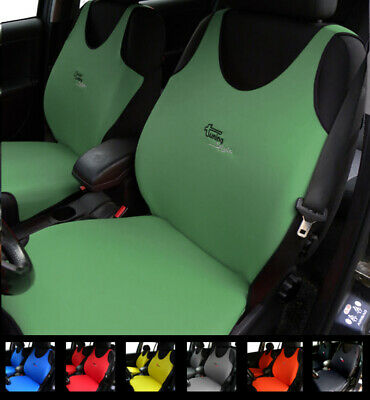 2 Green Car Seat Covers For Peugeot 104 106 107 108 204 205 206 207 208 2008