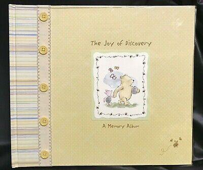 CR Gibson Disney Classic Pooh Baby First Year Memory Photo Record Book NEW