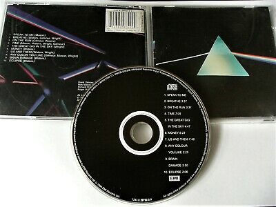 Pink Floyd The Dark Side Of The Moon Cd Import Rare Version See Detail Photo