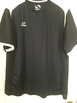 Men's Sondico Short Sleeve Top,   Black Size 2XL   Cycling/Rowing/other Sports