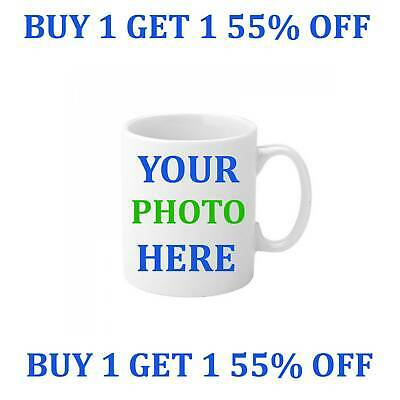 Personalised Mug Custom with your own Text and Photo Mugs Design