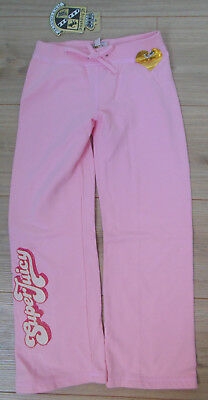 Pink tracksuit joggers Juicy Couture girl trousers pants 5-6 y BNWT designer