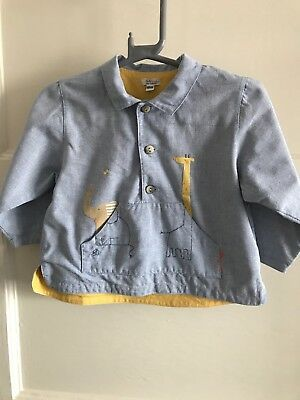 Baby Boys Catimini Shirt Top Age 18 Months 12-18
