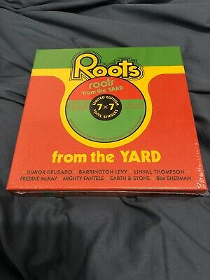 Record Store Day 2019-Roots From The Yard New/Sealed Rsd- 7X7 Vinyl Singles- Ltd