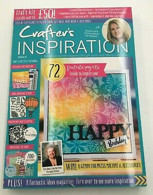 Crafters Inspiration Crafters Companion Craft Kit - Issue 21 with Dies Stamps