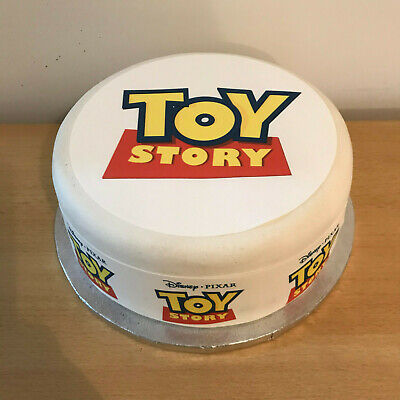 Toy Story pre-cut Edible Icing Cake Topper or Ribbon Easy to use