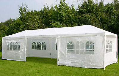 Large Waterproof Marquee Outdoor Gazebo Canopy Garden Party Tent Awning Patio