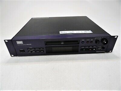 HHB CDR-850 Professional CD Compact Disc Recorder Defective AS-IS