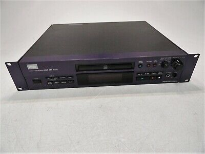 HHB CDR-850 Professional CD Compact Disc Recorder Limited Testing AS-IS