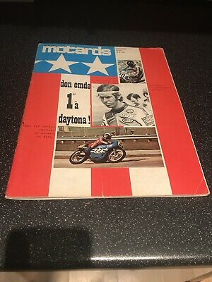 Motards French Motorcycle Magazine No.15 1971