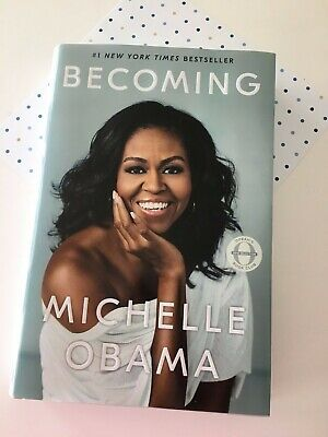Becoming by Michelle Obama Hardcover very good condition