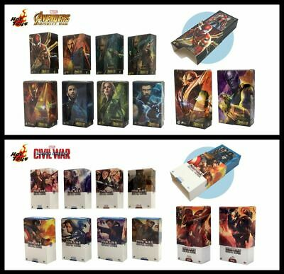The Winter Solider Box Art Magnet Set of 10 New Ready Hot Toys Captain America