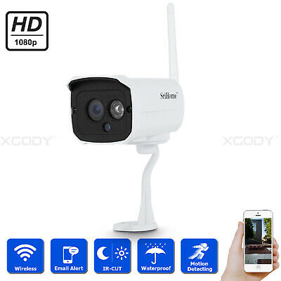 1080P FHD Outdoor Wireless Wifi IP Network Security Camera IR Night Vision Zoom