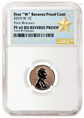 2019 W Reverse Proof Lincoln Penny Cent West Point NGC RD RV PF UC 69 FR Star LB