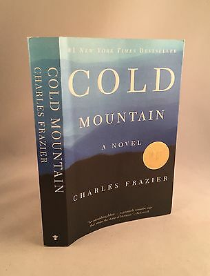 Cold Mountain-Charles Frazier-SIGNED!!-First SC/PB Edition/1st Printing!!-RARE!!