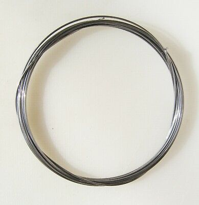 """Superior Grade ROSLAU Piano Wire- 3 metres length (118"""" inches-9ft 10"""")Metalwork"""