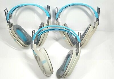 Astro A40 HEADSET Blue Headband Headsets for Microsoft Xbox One - Lot of 3ct.