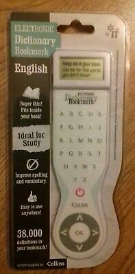 Electronic Dictionary Bookmark (Winner Gift Of The Year 2011) Brand New & Sealed