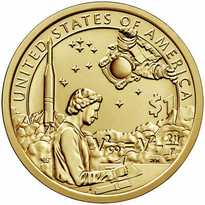 2019-P Native American Space Program Uncirculated Sacagawea Dollar