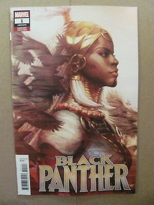 Black Panther #1 Marvel Comic 2018 Series Artgerm Variant 9.6 Near Mint+