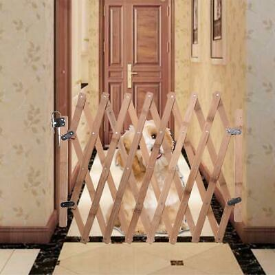 Retractable Baby Pet Child Kid Safety Security Gate Stair Barrier Door Extension