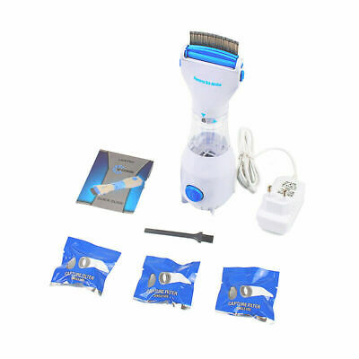Electronic Electric Flea Comb Puppies Fleas Treatment Pets Kill for Dogs Cats US