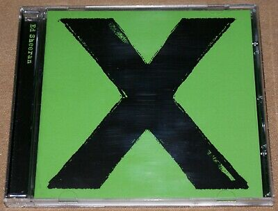 Ed Sheeran X CD Album 12 Tracks 2014 VGC