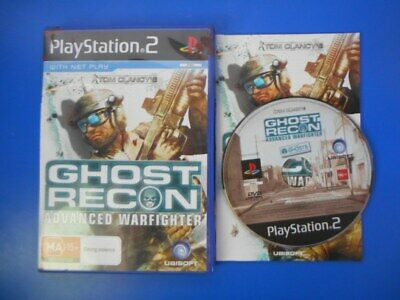 "Tom Clancys Ghost Recon Advanced Warfighter - PS2 ""Australia"""