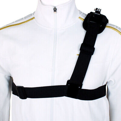 Shoulder Chest Strap Mount Harness Belt For GoPro Hero 3 3+ 4 Session CA ht