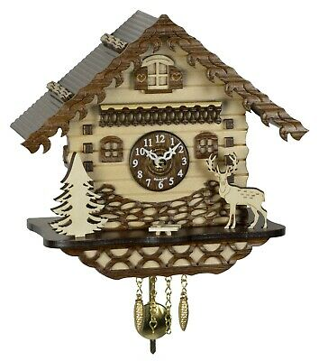 German Black Forest miniature pendulum Cuckoo Clock Quartz movement,cuckoo music