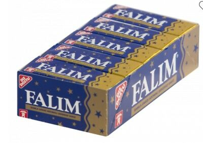 Falim Sugar Free Mixed Flavoured Sugarfree Chewing Gum Mastic 20 packs of 5 =100