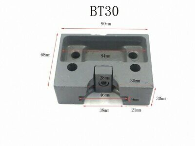 BT30 CNC TOOL HOLDER ROUND AND SQUARE TIGHTENING FIXTURE ship US