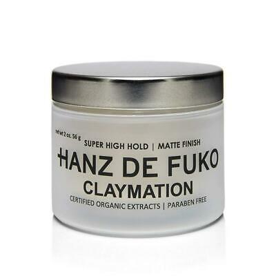Hanz de Fuko Premium Men's Hair Styling Claymation: High Performance Clay...