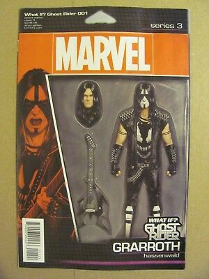 GHOST RIDER 1 JT CHRISTOPHER ACTION FIGURE VARIANT NM IF WHAT IF