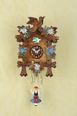 German Black Forest swing cuckoo clock with Quartz movement,cuckoo