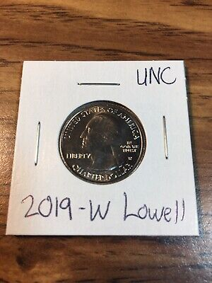 2019 W West Point Lowell National Park Quarter A-1